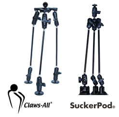 Claws-All platform ball sizes.