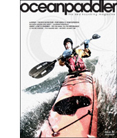 Kayalu suction mount cover of Ocean Paddler Magazine
