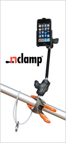 nClamp clamping GPS mount