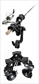 Contour-adapting Suction Mount