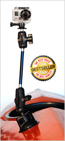 Kayalu RAM Power Locking Suction camera mount