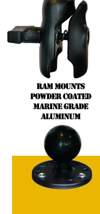 Kayalu Radpole RAM Mounts Aluminum C Ball