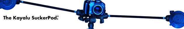 Kayalu SuckerPod suction-cup tripod camera mount
